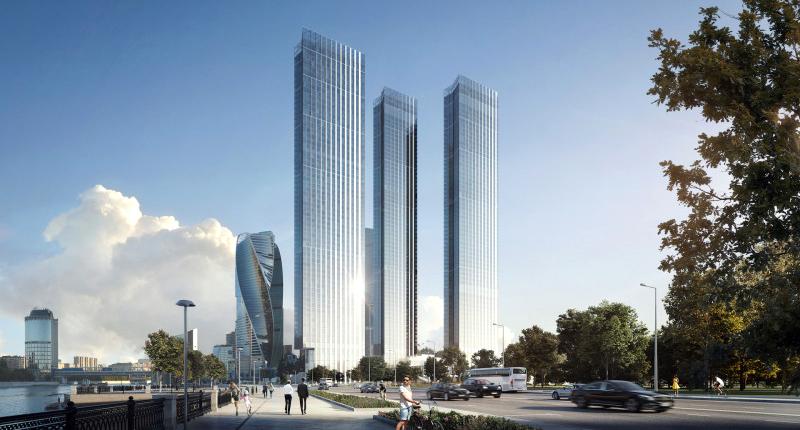 Еще пять. Знаковые небоскребы, которые построят в Москве - Московская перспектива